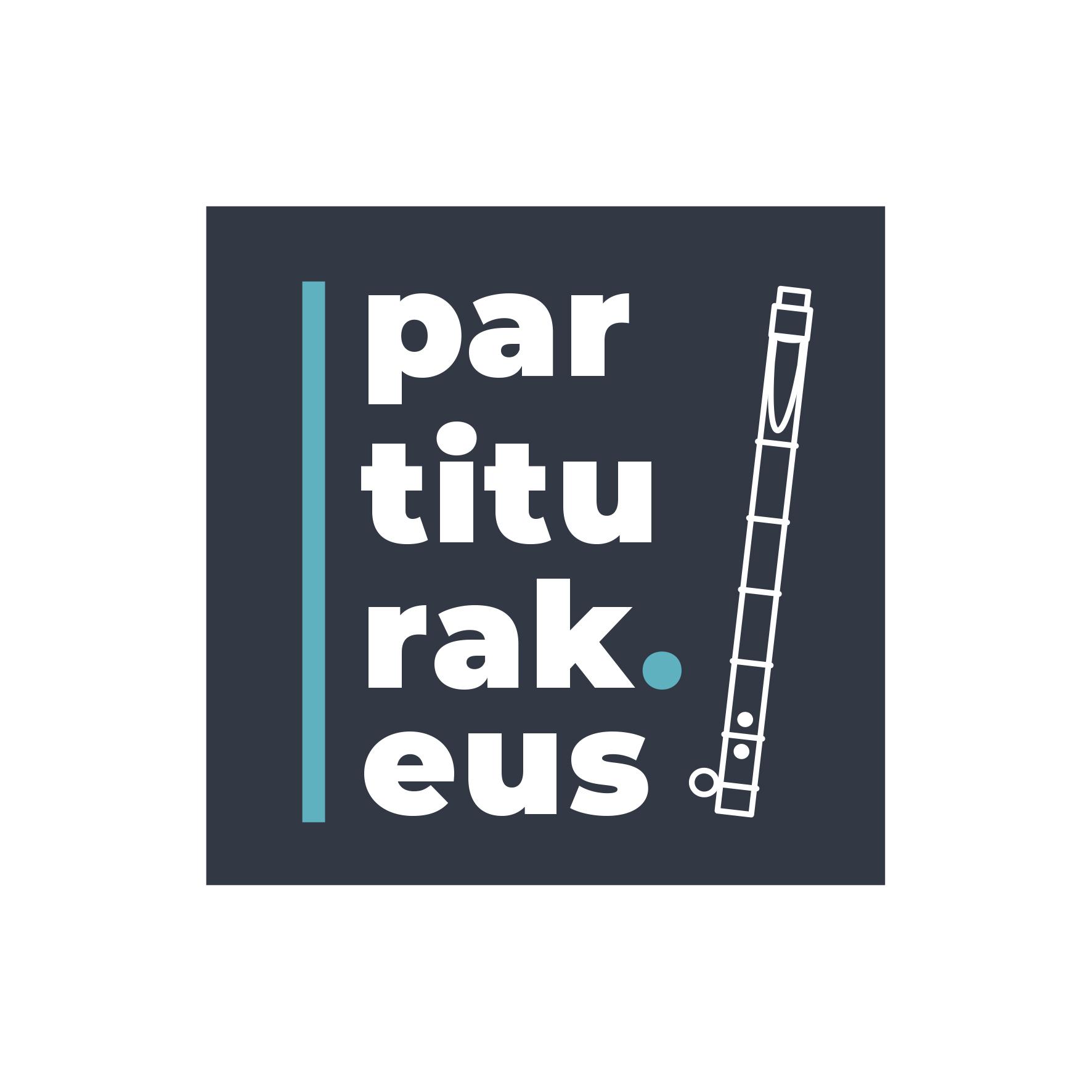 Logotype partiturak.eus